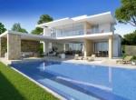 Villa independiente de lujo, con vistas al mar en Moraira